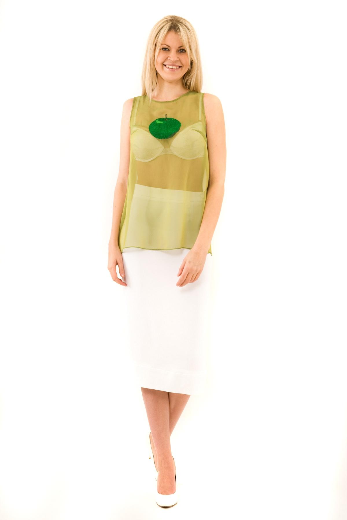 БлузаЖенские блузки<br>Эффектная блузка Doctor E оригинального дизайна привлечет к Вам всеобщее внимание и подчеркнет Ваш оригинальный вкус. Модель выполнена из полупрозрачного материала и оформлена стильной вышивкой. Изделие будет удачно гармонировать с любыми предметами гард<br><br>Цвет: зеленый<br>Состав: 100% полиэстер<br>Размер: 40,42,44,46,48,50<br>Страна дизайна: Россия<br>Страна производства: Россия