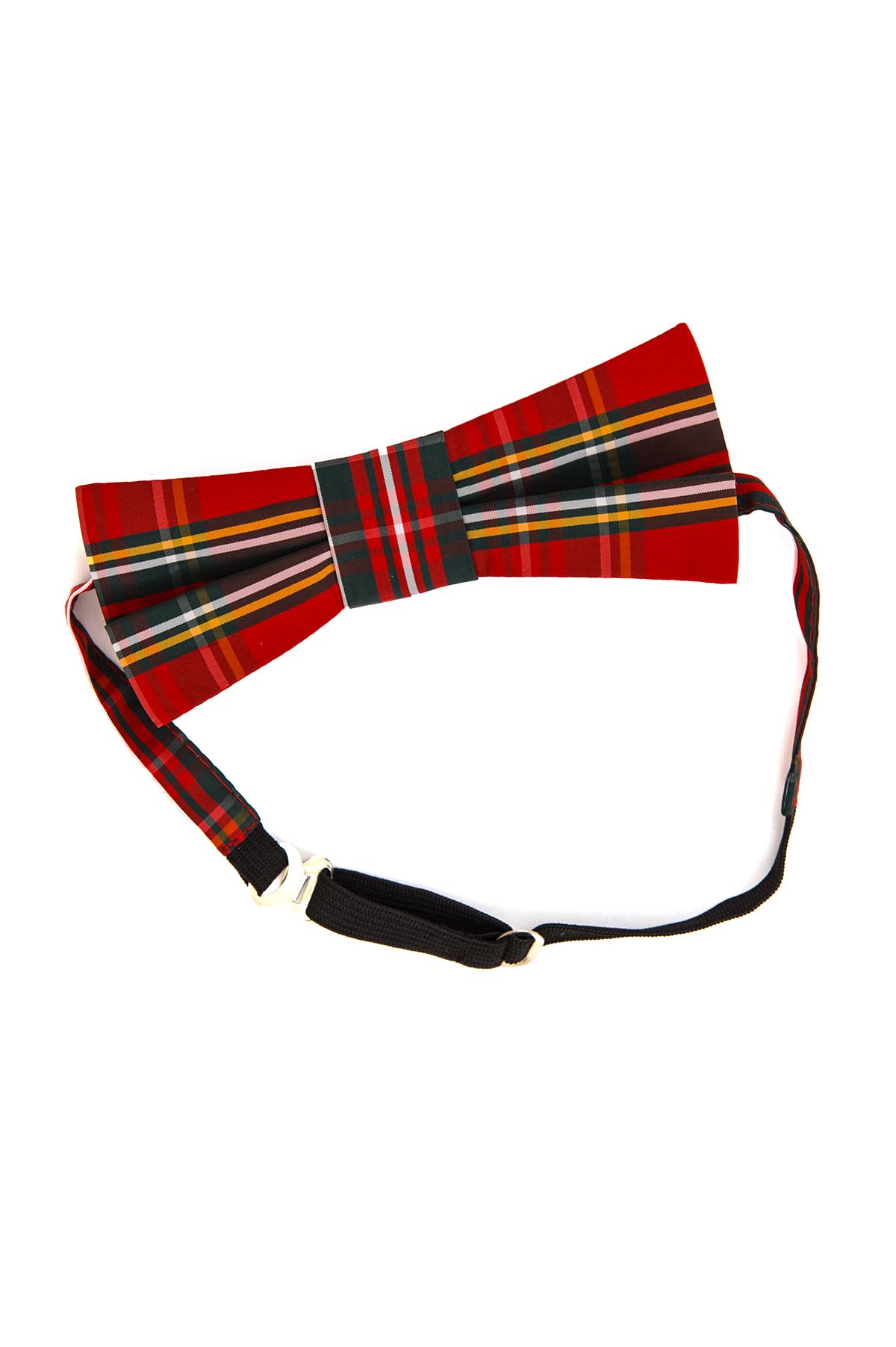 Галстук-бабочкаАксессуары <br>Экстравагантный галстук-бабочка - очень стильный аксессуар, который поможет создать Вам незабываемый потрясающий образ.<br><br>Цвет: красный<br>Состав: 100% полиэстер<br>Страна дизайна: Россия<br>Страна производства: Россия