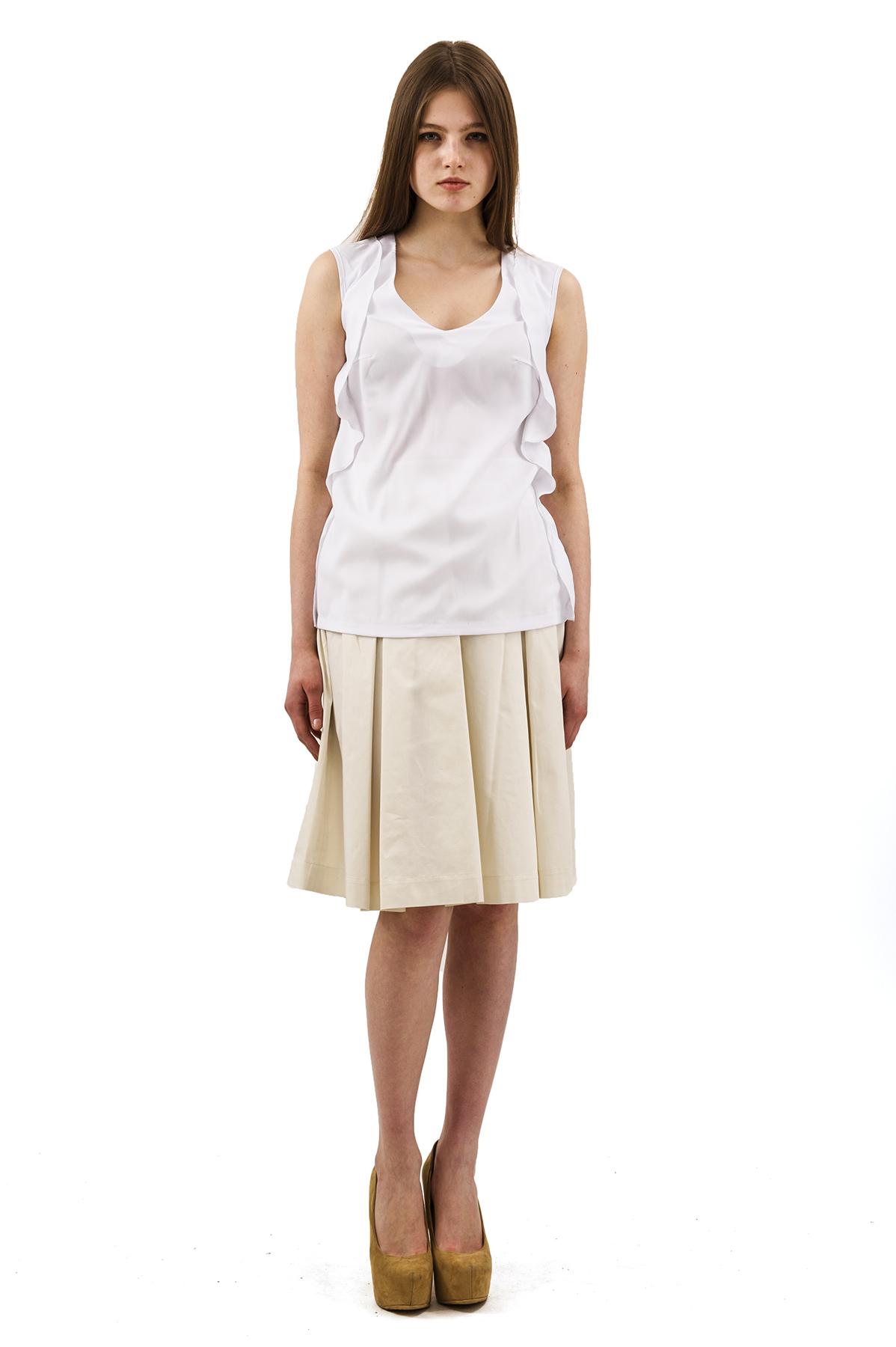 БлузаЖенские блузки<br>Эффектная блузка Doctor E оригинального дизайна привлечет к Вам всеобщее внимание и подчеркнет Ваш оригинальный вкус. Изделие будет удачно гармонировать с любыми предметами гардероба.<br><br>Цвет: белый<br>Состав: 97%полиэстер, 3% лайкра<br>Размер: 40,42,44,46,48,50,56,58<br>Страна дизайна: Россия<br>Страна производства: Россия