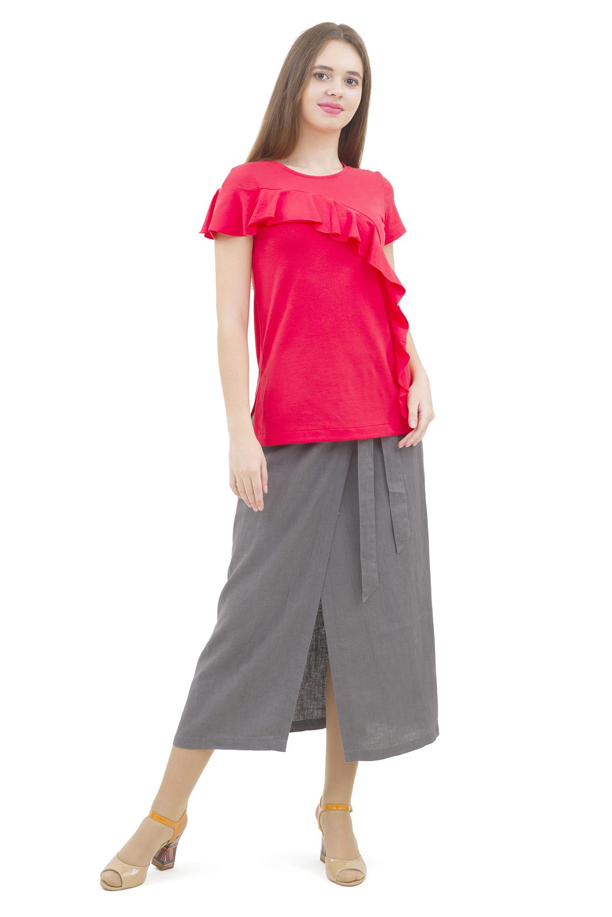 БлузаЖенские блузки<br>Эффектная блузка Doctor E элегантного лаконичного дизайна. Модель выполнена из высокачественного трикотажа. Восхитительное дополнение к Вашему повседневному гардеробу.<br><br>Цвет: коралловый<br>Состав: 92% хлопок, 8% лайкра<br>Размер: 40,42,44,46,48,50,52,54<br>Страна дизайна: Россия<br>Страна производства: Россия