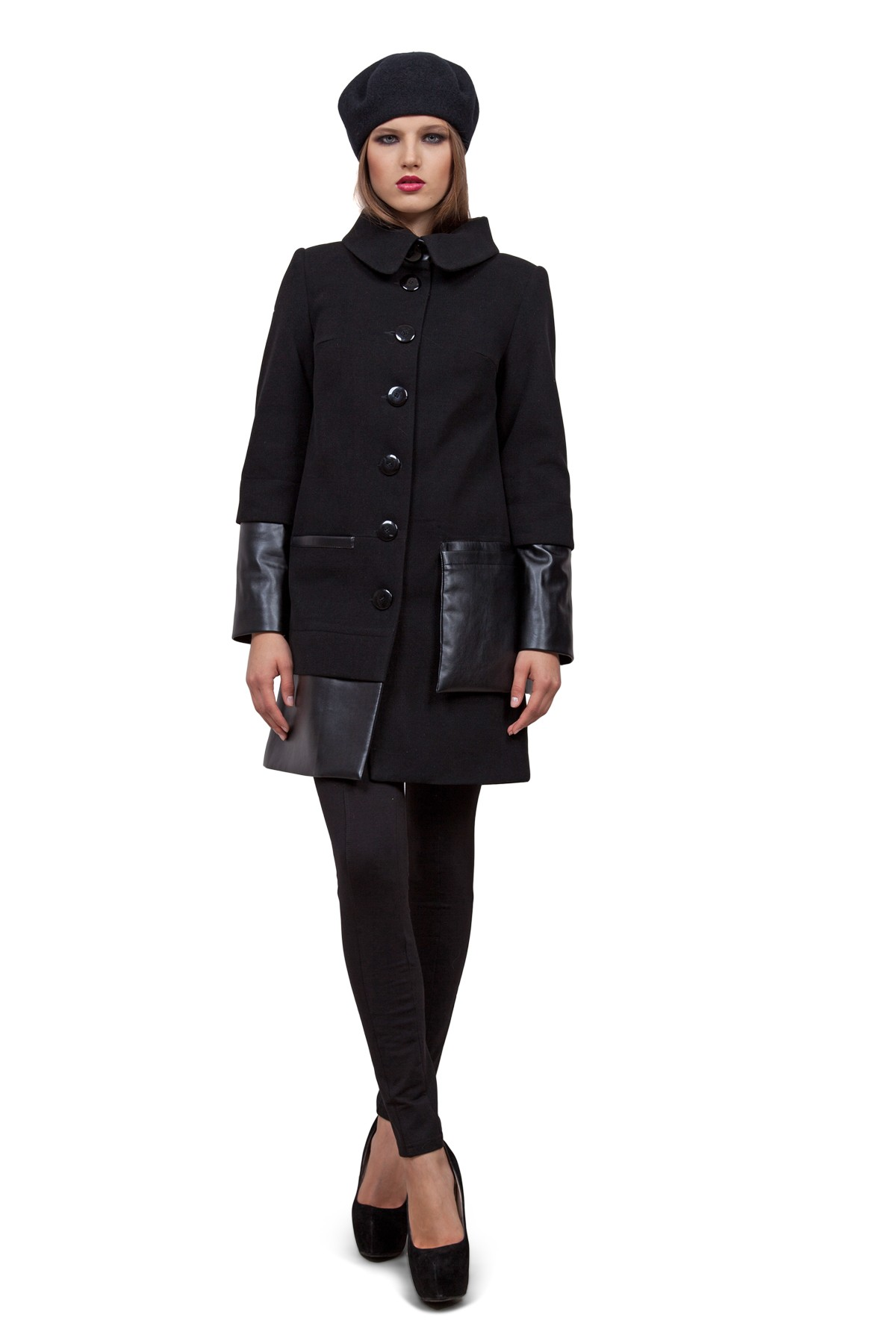 Пальто Doctor E GBL-33-BL