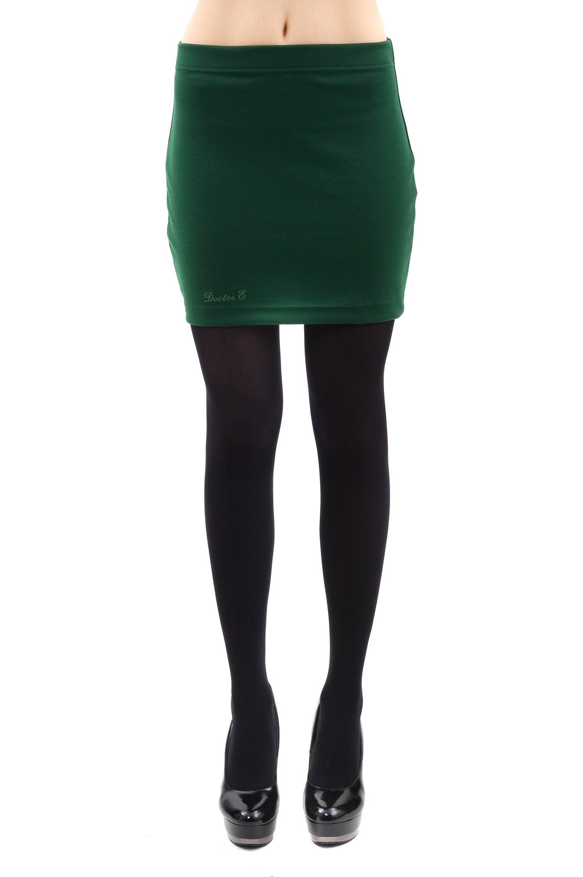 ЮбкаЖенские юбки и брюки<br>Очаровательная юбка лаконичного и стильного дизайна. Изделие будет удачно гармонировать с любыми предметами гардероба. Прекрасный вариант на каждый день.<br><br>Цвет: зеленый<br>Состав: 60%вискоза, 35%полиэстер, 5%лайкра<br>Размер: 46,48<br>Страна дизайна: Россия<br>Страна производства: Россия