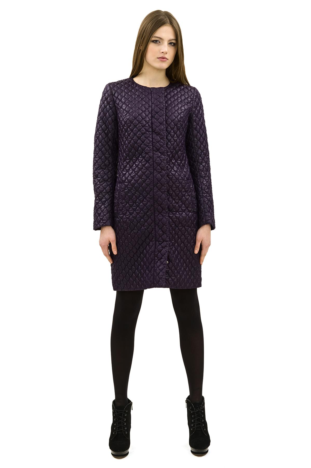 ПальтоЖенские куртки, плащи, пальто<br>Bосхитительный вариант для тех, кто предпочитает стильные решения - элегантное пальтоDoctor Eсдержанного модного дизайна, который подчеркнет Ваш безупречный вкус.<br><br>Цвет: фиолетовый<br>Состав: 100% полиэстер, подкладка- 100% полиэстер<br>Размер: 40,42,44,48,54,56,58,60<br>Страна дизайна: Россия<br>Страна производства: Россия