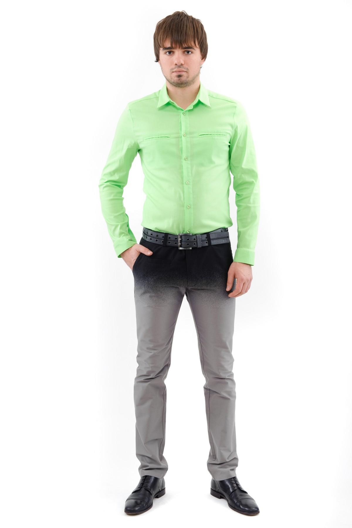 РубашкаМужские рубашки<br>Актуальная рубашка с длинным рукавами и застежкой на пуговицы,. Воротник отложной. Дополнена карманами на груди. Полочки и спинка на фигурных кокетках, дающих свободу движений. Эта рубашка для мужчин, ценящих комфорт и стиль. Отлично смотрится в сочетании<br><br>Цвет: лайм<br>Состав: 97% хлопок, 3% лайкра<br>Размер: 56,58<br>Страна дизайна: Россия<br>Страна производства: Россия