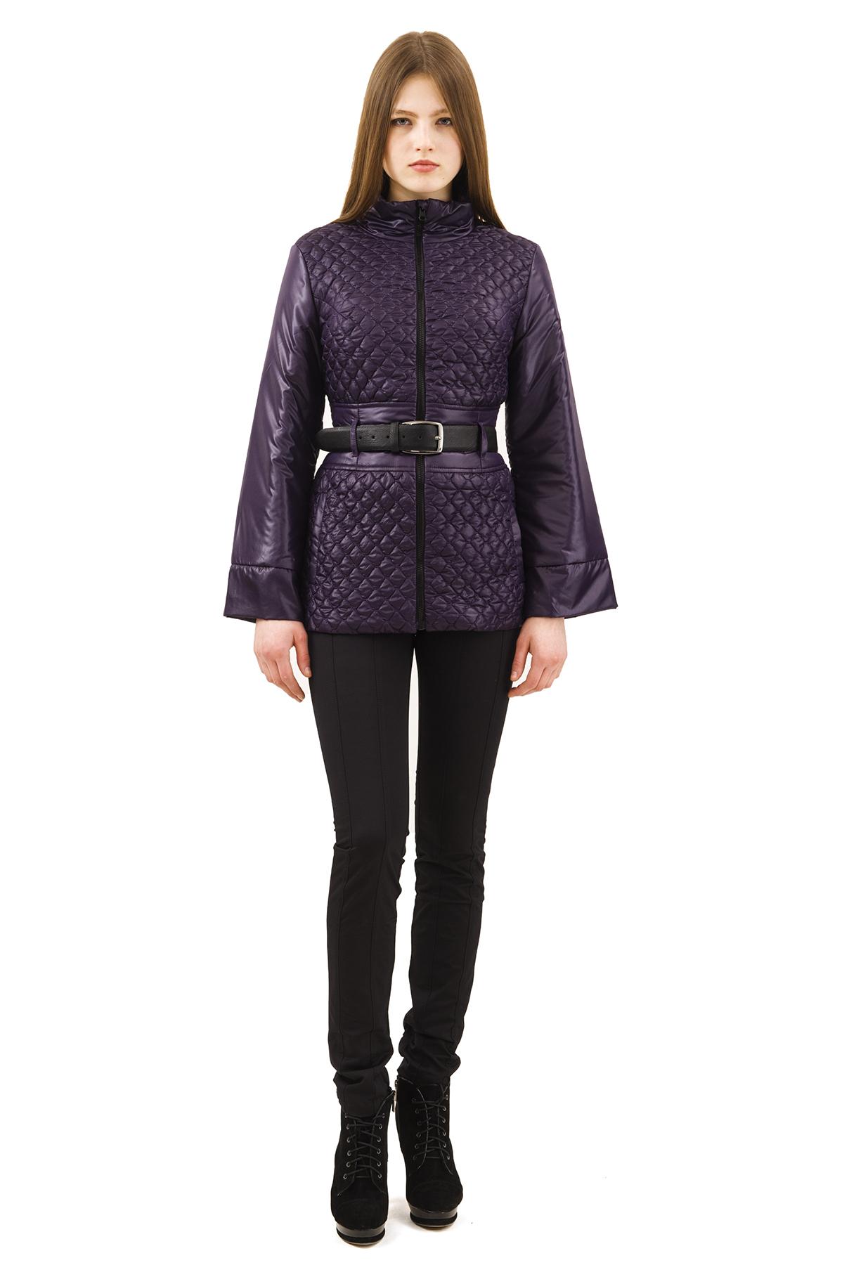 КурткаЖенские куртки, плащи, пальто<br>Стильная куртка для современных жительниц мегаполиса. Выполнена из высококачественного комфортного материала. Эта вещь станет идеальным вариантом для создания современного образа любой девушки.<br><br>Цвет: фиолетовый<br>Состав: 100% полиэстер, подкладка- 100% полиэстер<br>Размер: 40,48,50,52,54,56,60<br>Страна дизайна: Россия<br>Страна производства: Россия