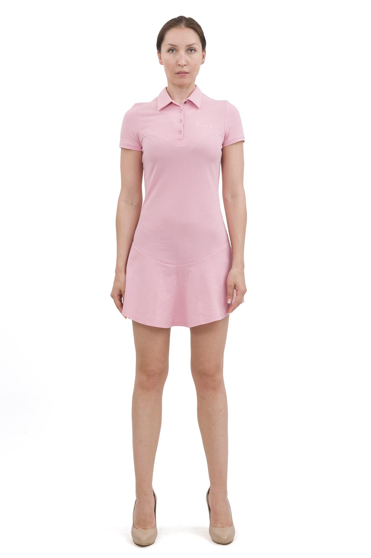 ПлатьеПлатья,  сарафаны<br>Изумительное платье яркой расцветки и оригинального дизайна не оставит Вас незамеченной среди окружающих. Отличный вариант на лето!<br><br>Цвет: розовый<br>Состав: 100% хлопок<br>Размер: 40,42,44,46,48,50,52,54,56,58,60<br>Страна дизайна: Россия<br>Страна производства: Россия