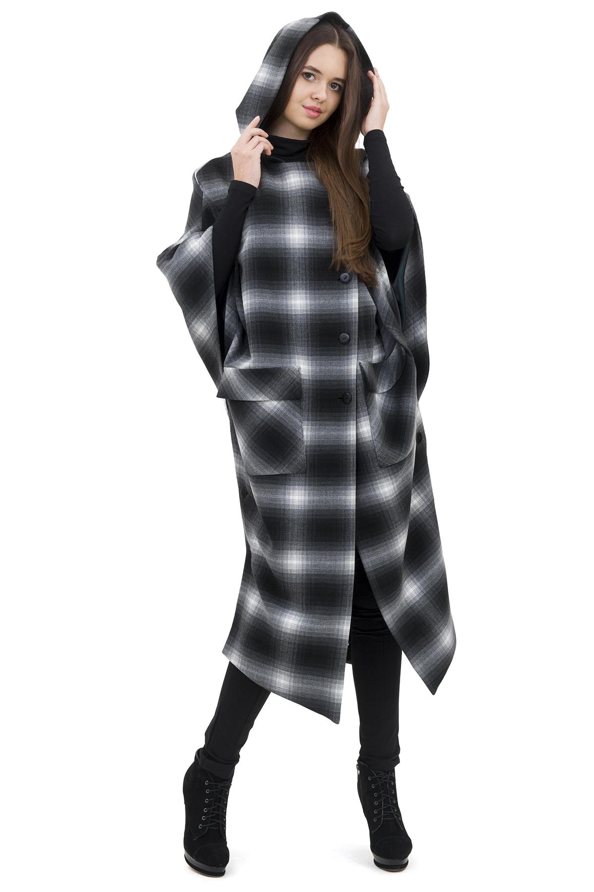 ПальтоЖенские куртки, плащи, пальто<br>Восхитительный вариант для тех, кто предпочитает стильные решения - пальто сдержанного модного дизайна, который подчеркнет Ваш безупречный вкус. Прекрасный вариант для создания стильного образа.<br><br>Цвет: черный,белый<br>Состав: 62% полиэстер; 33% вискоза; 5% эластан<br>Размер: 42,44,46,48,50,52,54,56,58,60<br>Страна дизайна: Россия<br>Страна производства: Россия