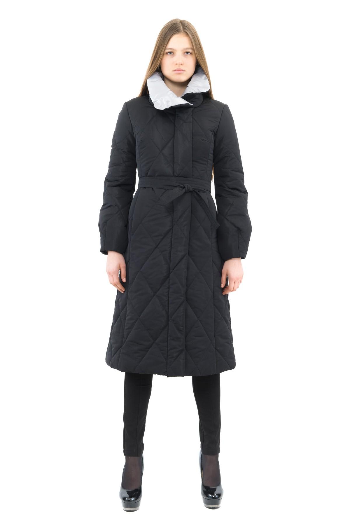 ПальтоЖенские куртки, плащи, пальто<br>Восхитительный вариант для тех, кто предпочитает стильные решения - элегантное пальто сдержанного модного дизайна, который подчеркнет Ваш безупречный вкус. Прекрасный вариант для создания элегантного образа.<br><br>Цвет: черный,серый<br>Состав: 100% полиэстер: подкладка - 100% полиэстер<br>Размер: 52<br>Страна дизайна: Россия<br>Страна производства: Россия