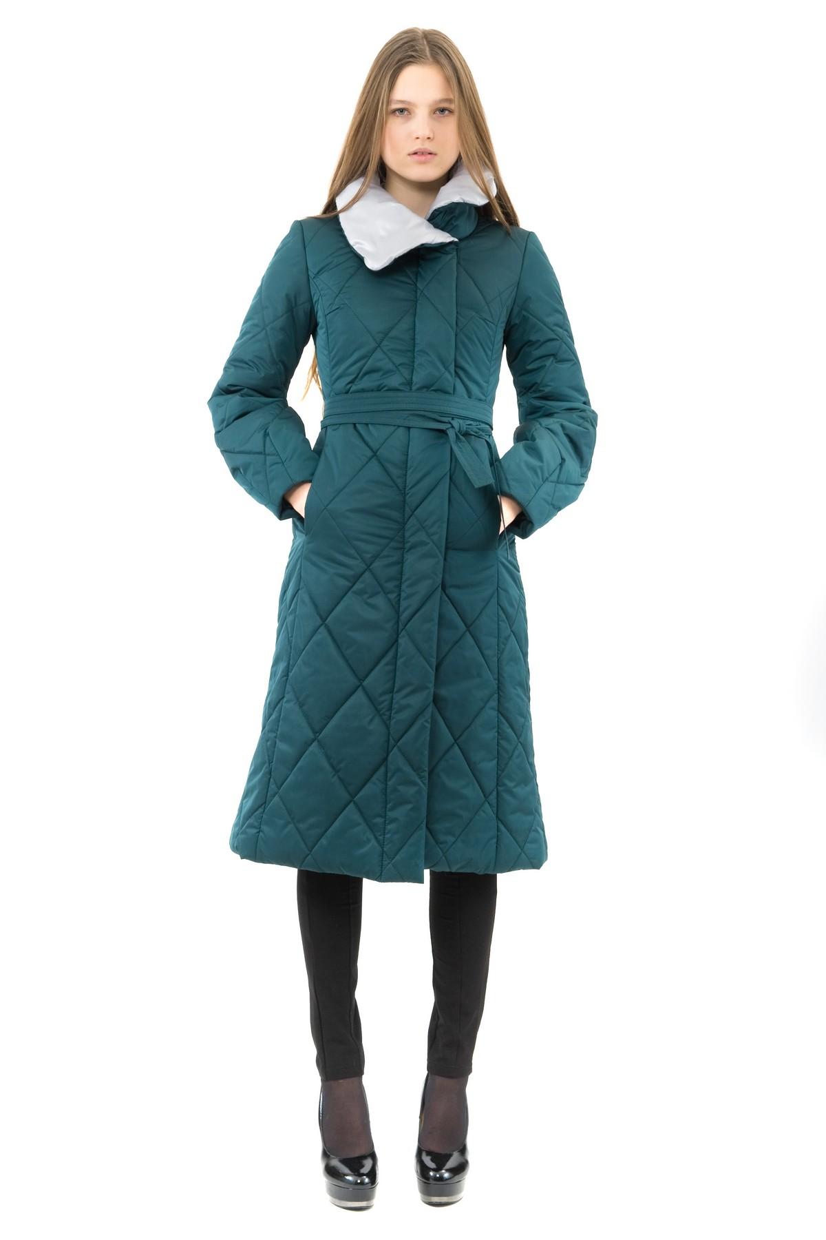 ПальтоЖенские куртки, плащи, пальто<br>Восхитительный вариант для тех, кто предпочитает стильные решения - элегантное пальто сдержанного модного дизайна, который подчеркнет Ваш безупречный вкус. Прекрасный вариант для создания элегантного образа.<br><br>Цвет: зеленый,серый<br>Состав: 100% полиэстер: подкладка - 100% полиэстер<br>Размер: 42<br>Страна дизайна: Россия<br>Страна производства: Россия