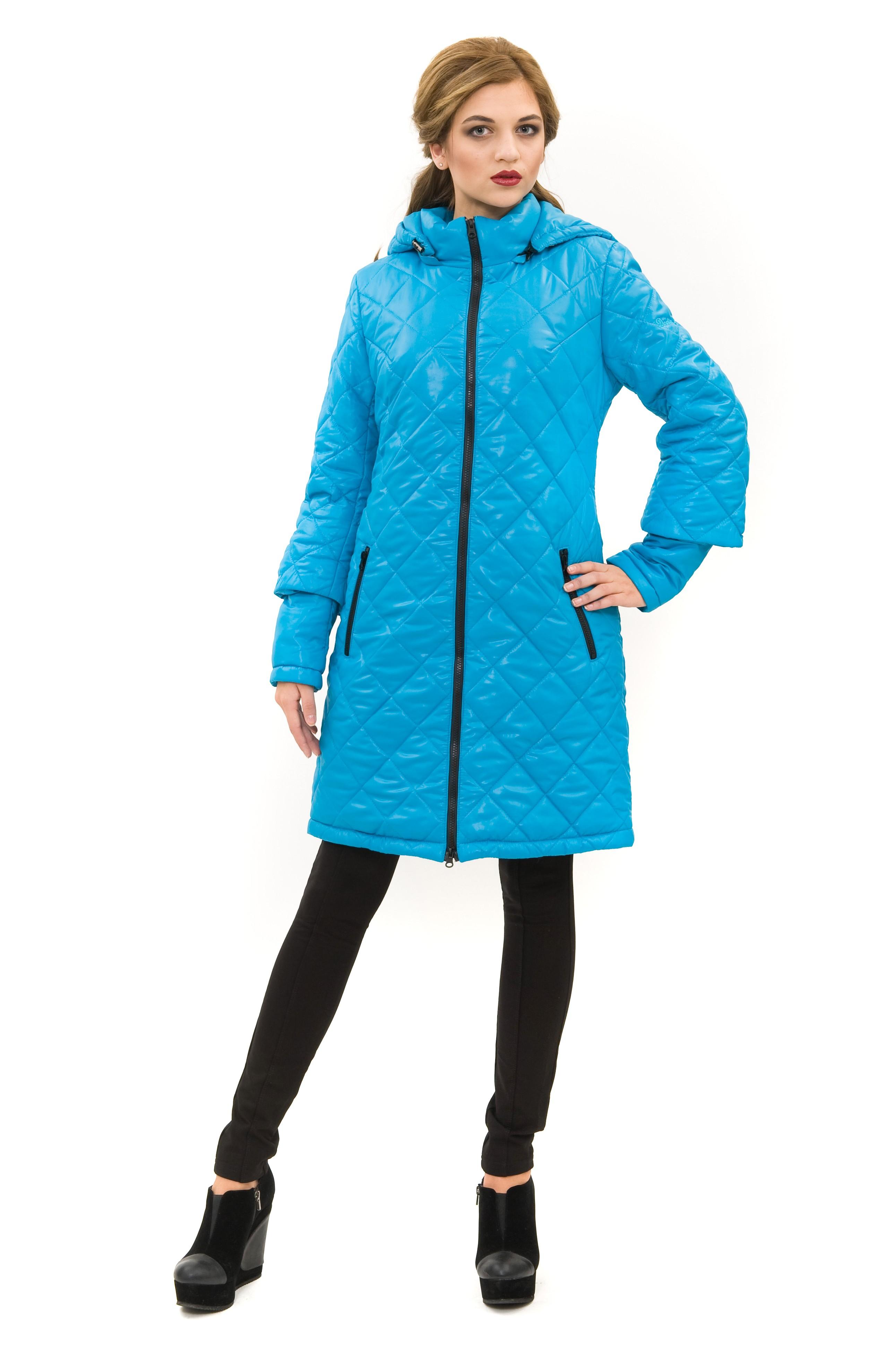 ПальтоЗимние куртки, пальто, пуховики<br>Стильное пальто согреет в холодные дни. Модель с воротником-стойкой и длинными рукавами имеет застежку на молнию. Изделие дополнено удобными карманами. Отличный осенний вариант.<br><br>Цвет: бирюзовый<br>Состав: 100%полиэстер, подкладка-100%полиэстер, утеплитель - термофин 200г<br>Размер: 42,44,52,54,56,58,60<br>Страна дизайна: Россия<br>Страна производства: Россия