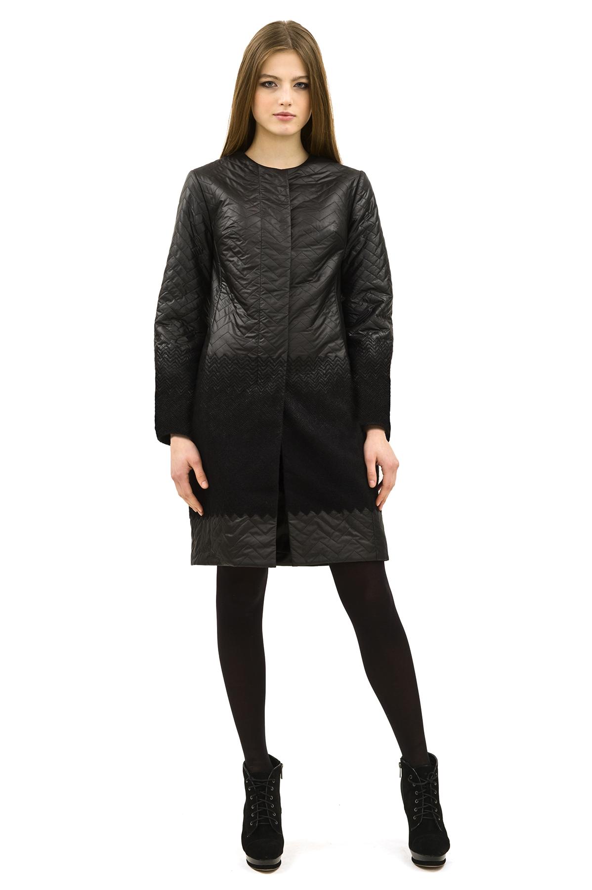 ПальтоЖенские куртки, плащи, пальто<br>Пальто от Doctor E - стильный и комфортный выбор. Шерсть, которая входит в состав, надежно сохраняет тепло. Лаконичное черное пальто с ассиметричным расположением молнии. Отличный выбор для современной жительницы мегаполиса.<br><br>Цвет: черный<br>Состав: 38%шерсть,62%полиэстер,  подкладка - 100%полиэстер<br>Размер: 40,42,44,46,48,50,52,54,56,58,60<br>Страна дизайна: Россия<br>Страна производства: Россия