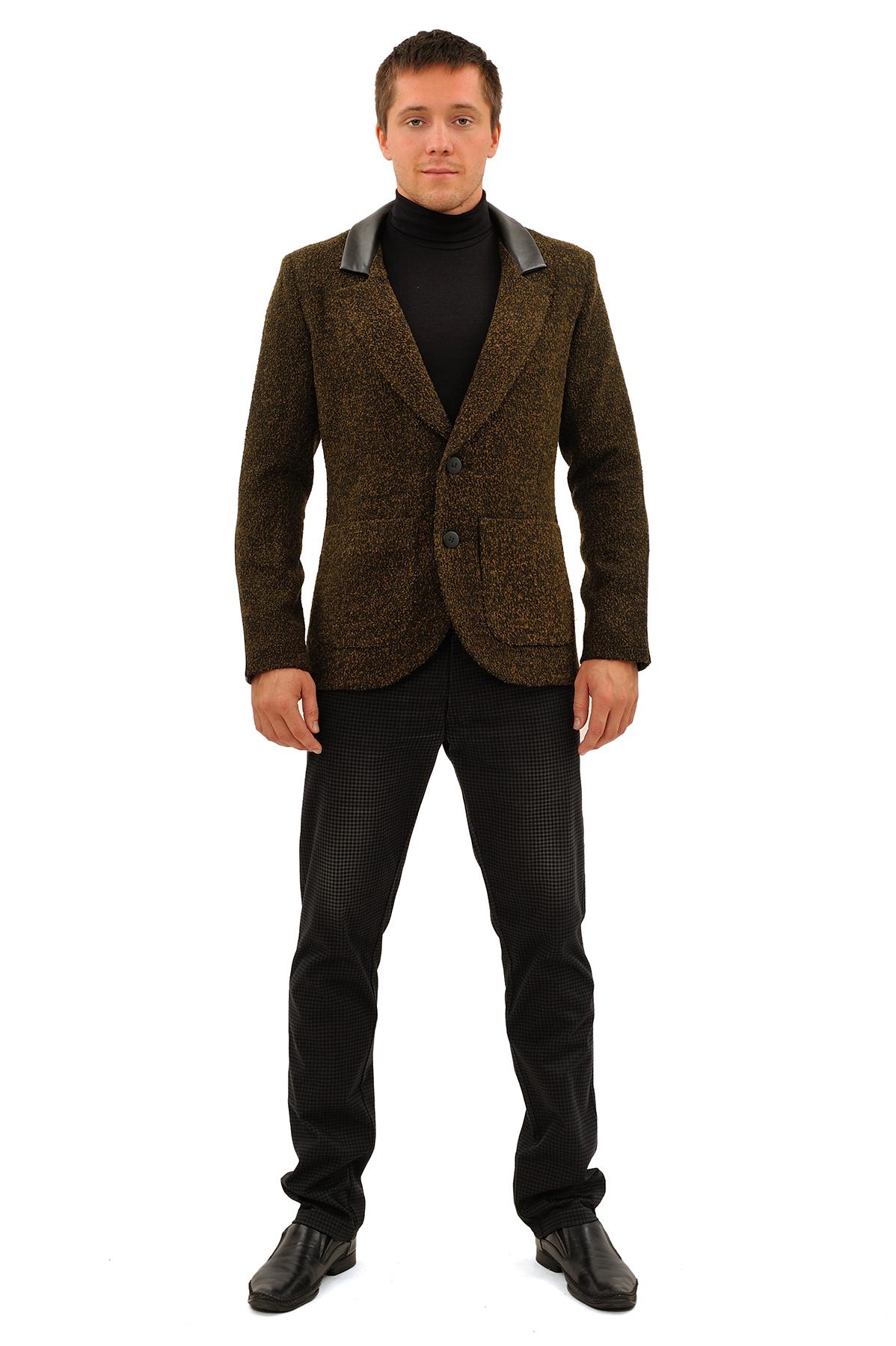 ПиджакПиджаки, жилеты<br>Этот великолепный пиджак стирает все стереотипы, и позволят примерить на себя новый яркий и интересный образ. Модель приталенного покроя с застежкой на пуговицы и накладными карманами. Особенность данной  модели – это комфортный материал букле и отделка и<br><br>Цвет: хаки<br>Состав: ткань-30%шерсть, 30%полиэстер, 30%акрил, 10%полиамид, подкладка -54%полиэстер, 46%вискоза<br>Размер: 44,46,48,50,52,56,58<br>Страна дизайна: Россия<br>Страна производства: Россия