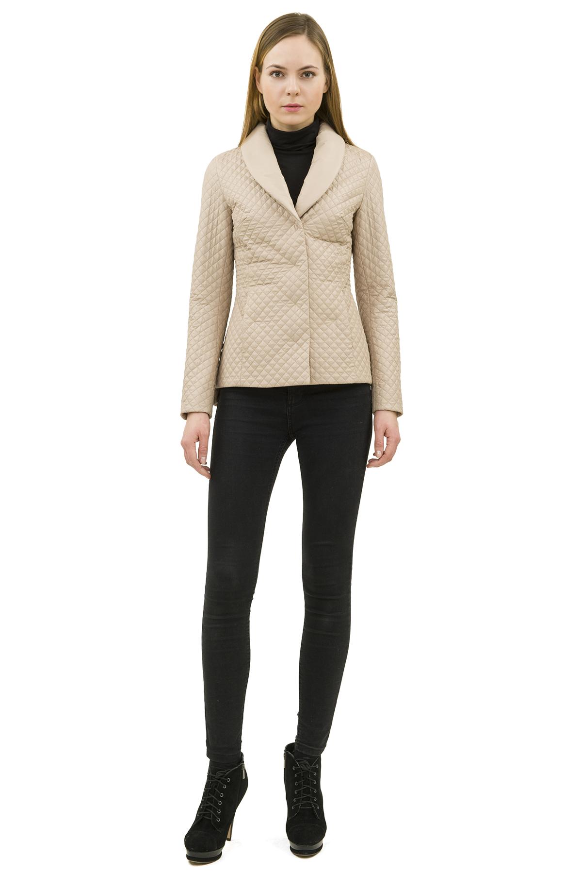 КурткаЖенские куртки, плащи, пальто<br>Стильная модель женской курткиспособна выделить Вас из общей толпы.Комфортный вариант на каждый день.<br><br>Цвет: бежевый<br>Состав: 100% полиэстер<br>Размер: 44,50<br>Страна дизайна: Россия<br>Страна производства: Россия