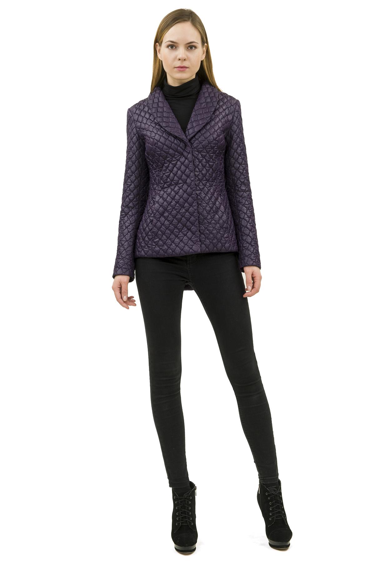 КурткаЖенские куртки, плащи, пальто<br>Стильная модель женской курткиспособна выделить Вас из общей толпы.Комфортный вариант на каждый день.<br><br>Цвет: фиолетовый<br>Состав: 100% полиэстер<br>Размер: 48,50,52<br>Страна дизайна: Россия<br>Страна производства: Россия