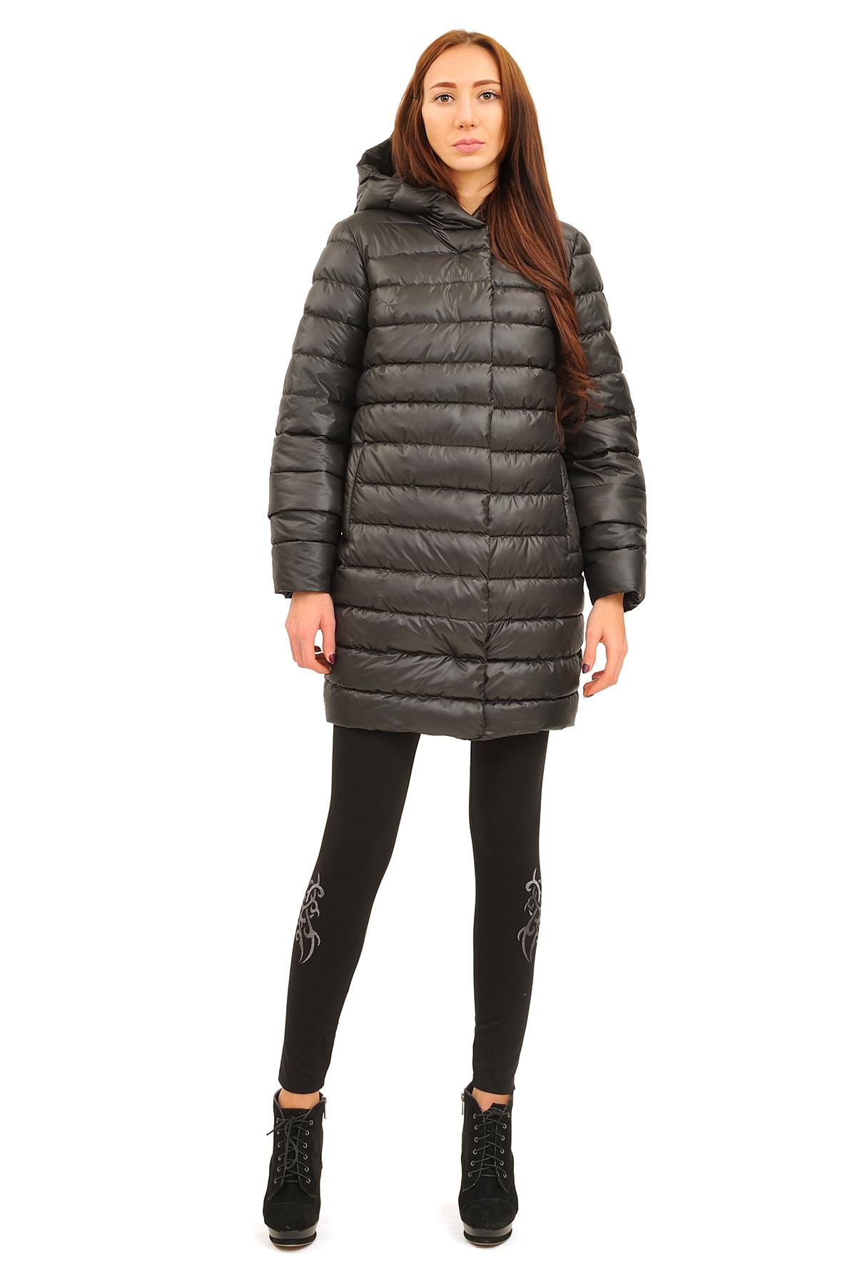 ПальтоЗимние куртки, пальто, пуховики<br>В холодный зимний день очень важно ощущение тепла и комфорта. Это тепло может подарить Вам это очаровательное полупальто. модель прекрасно сидит по фигуре. Оригинальность пальто заключается в модной яркой расцветке.<br><br>Цвет: черный<br>Состав: 100% полиэстер Подкладка: 100% полиэстер Утеплитель:  синтепух<br>Размер: 40,42,44,46,48,50,52,54,56<br>Страна дизайна: Россия<br>Страна производства: Россия