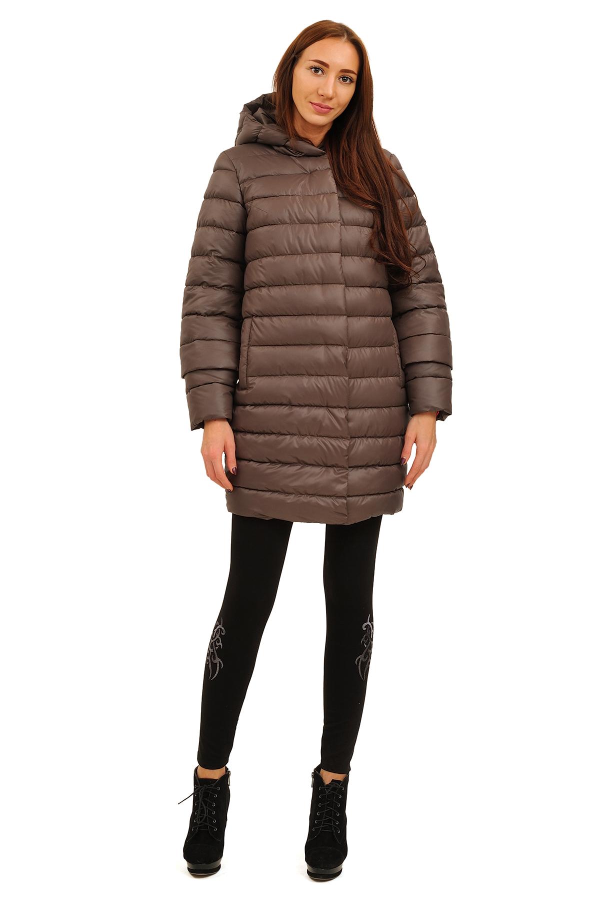 ПальтоЗимние куртки, пальто, пуховики<br>В холодный зимний день очень важно ощущение тепла и комфорта. Это тепло может подарить Вам это очаровательное полупальто. модель прекрасно сидит по фигуре. Оригинальность пальто заключается в модной яркой расцветке.<br><br>Цвет: коричневый<br>Состав: 100% полиэстер Подкладка: 100% полиэстер Утеплитель:  синтепух<br>Размер: 44,46,48,50,52,54<br>Страна дизайна: Россия<br>Страна производства: Россия